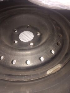 Brand new condition winter on rims