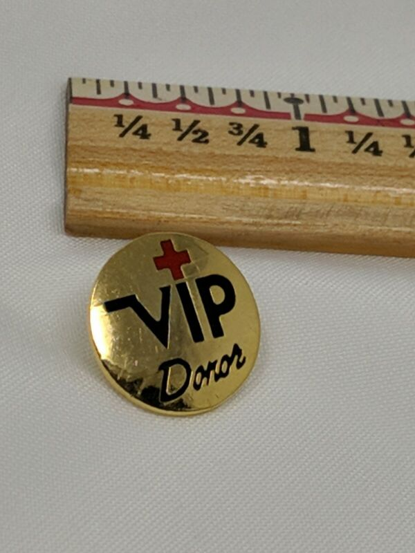 American Red Cross ARC Pin VIP Donor Bin 7/31