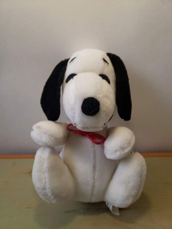 "Vintage Knickerbocker Plush Snoopy Dog Stuffed Animal Toy 1968 UFS - 10"" Tall"