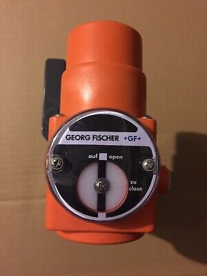 34 Glue Fitting Pneumatic Ball Valve Georg Fischer Gf Industrial Air Operated