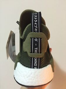 NMD_XR1 PK Olive green  us 9.5 Eastwood Ryde Area Preview