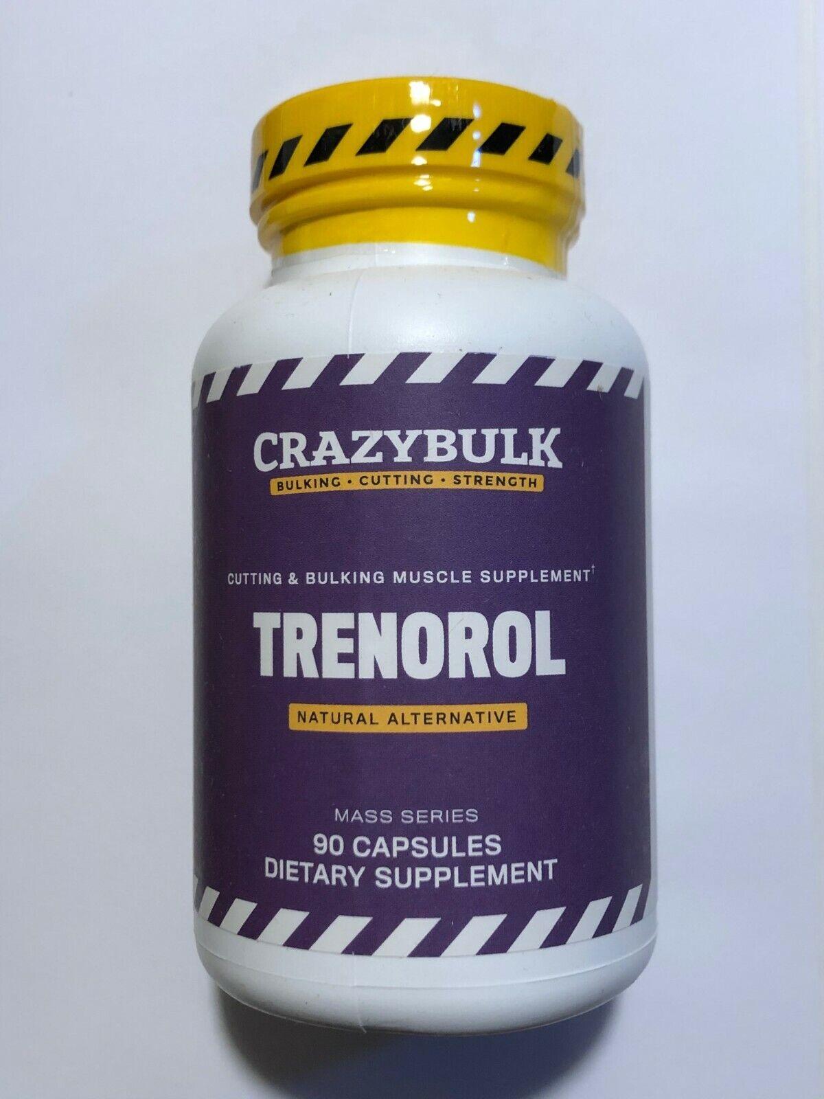 Crazy Bulk TRENOROL Cutting Muscle Strength Plant Stack Crazy Bulk Bulking Gains