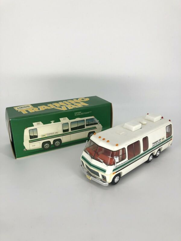1978/80 Hess Training Van With Working Lights No Missing Pieces New In Box