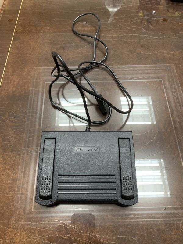 Infinity IN-557 14 Pin Plug Transcription Dictaphone Foot Pedal Very clean