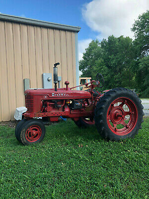 Farmall H Tractor New Brakes Rebuilt Carb New Ignition Runs Great Side Pto