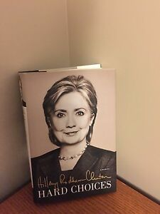 Hillary Clinton's  Hard Choices in hardcover