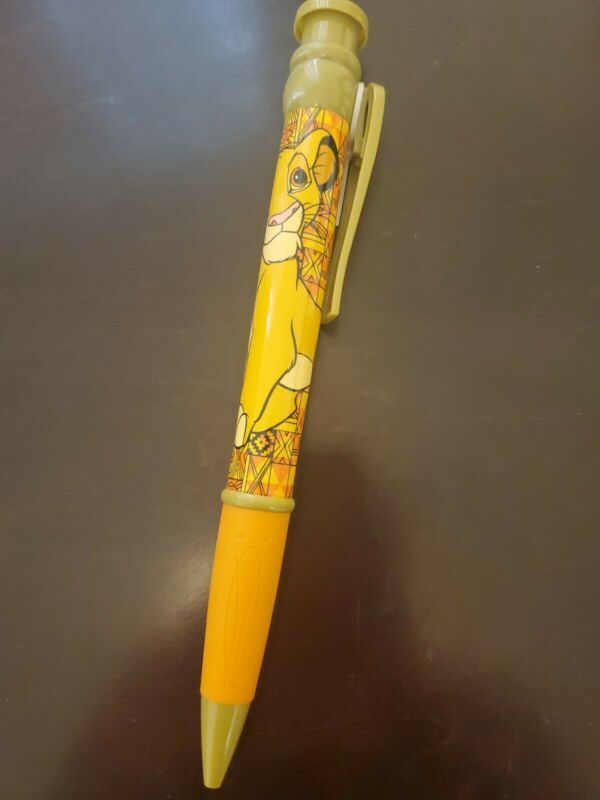 Giant Oversized Disney The Lion King Writing Pen approx 10 in long x 1 in