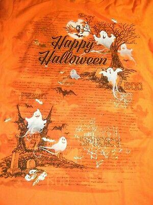 Happy Halloween Shirt  Ghost Haunted House  Bats