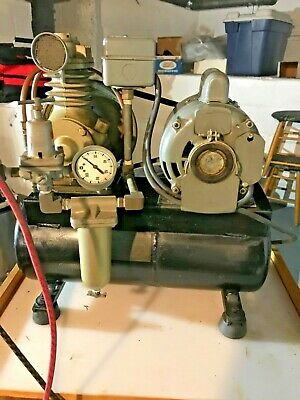 Dayton Model 5k44 A Speedaire Elec 400 Air Compressor - Working Condition