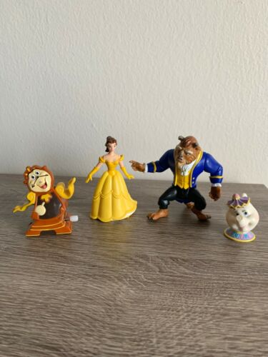 """Vintage Burger King """"Beauty and the Beast"""" Toy Figures"""