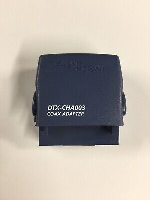 Fluke Networks Dtx-cha003 Dtx Series Coaxial Cable Test Adapter For Dtx-1800
