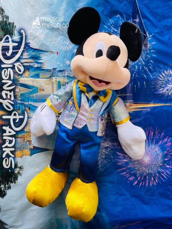 2021 Disney World 50th Anniversary Mickey Mouse Plush New