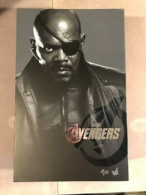 Hot Toys 1/6 Scale Movie Masterpiece The Avengers Nick Fury MMS 169