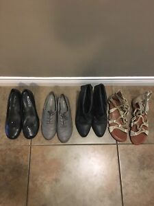 4 pairs assorted Aldo shoes
