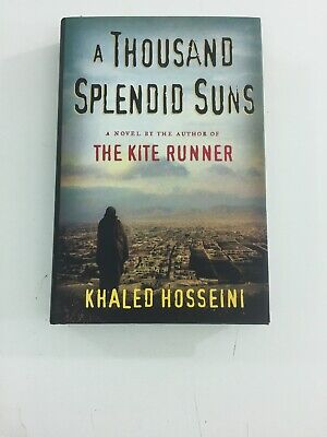 A Thousand Splendid Suns - Khaled Hosseini (2007, Hardcover, Dust Jacket)