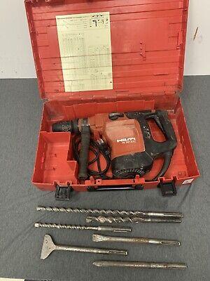 Hilti Te 76p-atc Hammer Drill 115v Sds-max Chuck W Bits Case Free Shipping