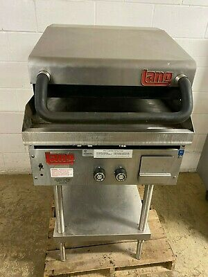Lang 24grill W Clamshell Top Grill Csg-24 Gas Tested