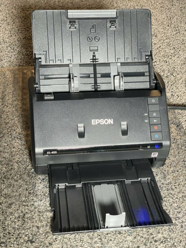 Epson WorkForce ES-400 Color Duplex Document Scanner - MAC & PC
