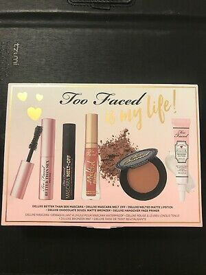Too Faced Is My Life 5 Piece Mini Travel Makeup Set Better Than Sex Mascara