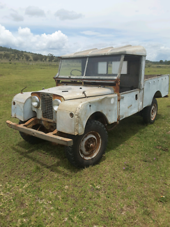 Landrover Series 1, 107, 1956