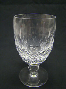 Waterford cut glass colleen short stem claret wine glasses 4 75 clear crystal - Short stemmed wine glass ...