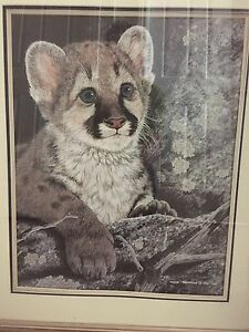 Tyler Thompson Lynx painting