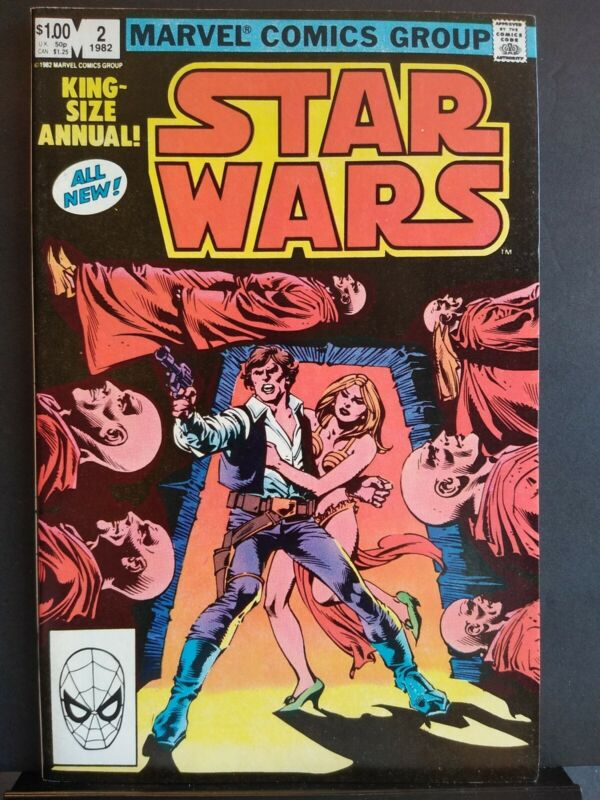 Star Wars Annual #2 Near Mint- 9.2 Han Solo Carmine Infantino Art 1982 HighGrade