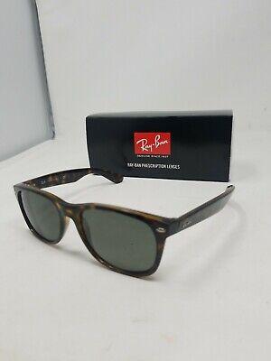 Ray Ban New Wayfarer Sunglasses RB2132 Tortoise Frame 53mm prescription lenses (New Wayfarer Prescription)