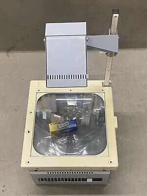 Quill Overhead Projector OHP 410 + Brand new bulb | TESTED