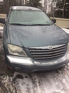Must go a 2006 Chrysler Pacifica for sale