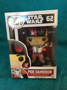Pop! POE DAMERON. (62). Star Wars. Caulfield East Glen Eira Area Preview
