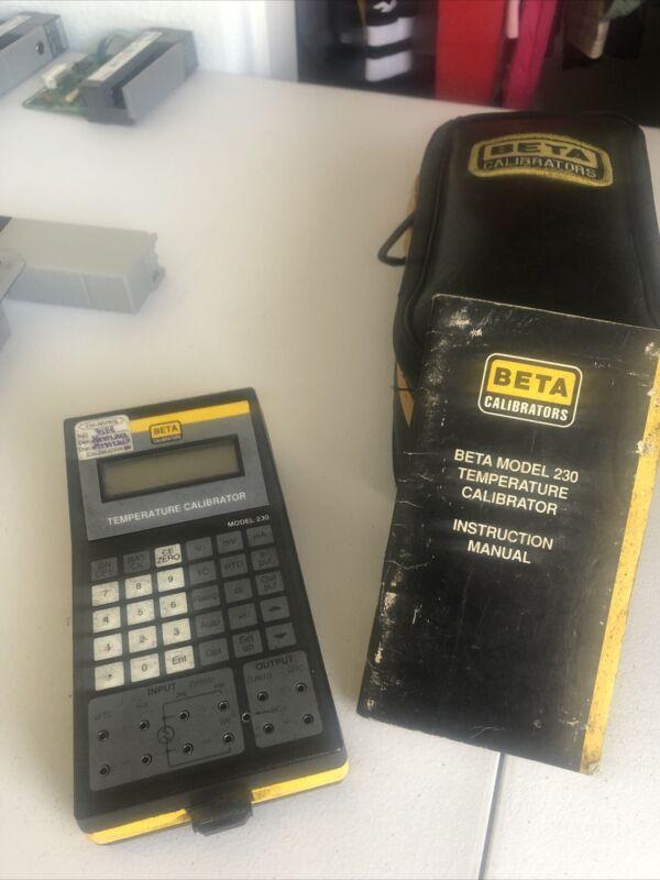 Temperature Calibrator Beta Model 230