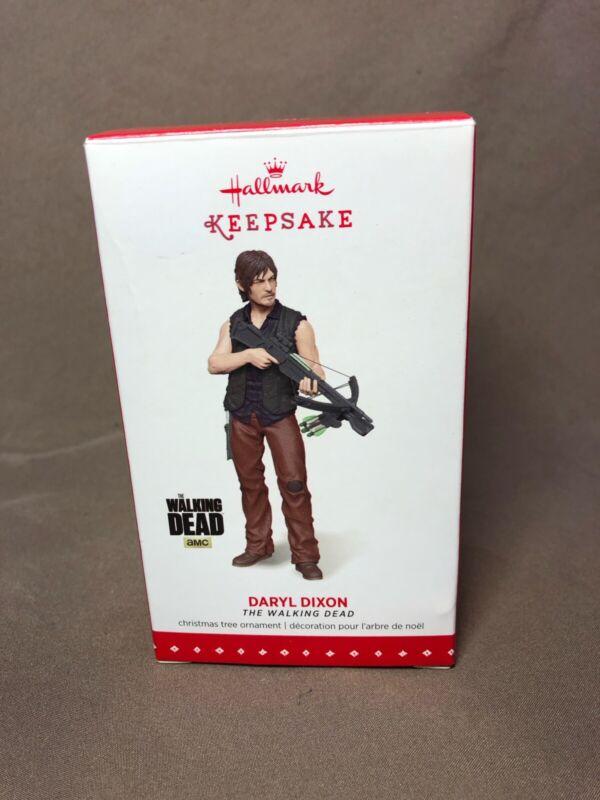 The Walking Dead, Daryl Dixon Figurine, Hallmark Keepsake Christmas Ornament
