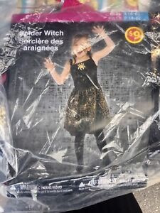 Spider Witch Costume size 4-6