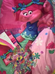 Trolls Bedding and wall Decals