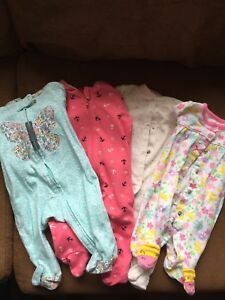Baby girl sleepers