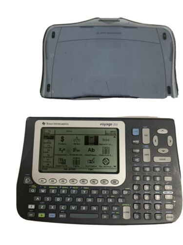 Texas Instruments TI Voyage 200 Graphing Calculator with Cov