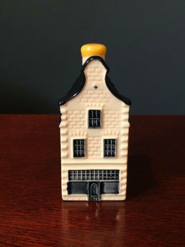 KLM BOLS House #36 Blue Delft Ceramic | 2005 Issue ~ Evaporated/Empty