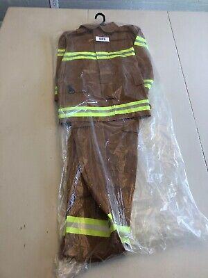 (8 / 10, Tan) - Aeromax Jr. NEW YORK Fire Fighter Suit, (0131)