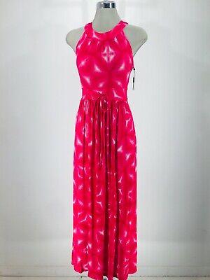 Calvin Klein NWTGorgeous HIBISCUS Goddess Floral Print Maxi NEW Dress size - Green Goddess Dress