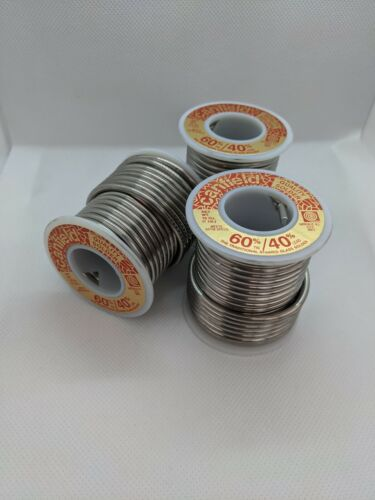 3 Canfield 60/40 Solder 1lb Spool - Stained Glass