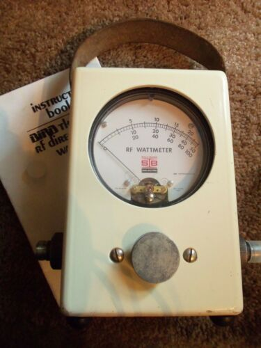 Sola Basic Thruline WattMeter Meter /  Bird 43  Type