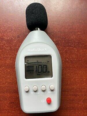 Radio Shack Digital Sound Level Meter 33000099