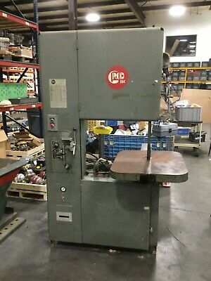 Grob 24 Vertical Band Saw 4v-24 3ph 230v 37bk