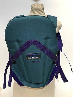 LL Bean Infant Carrier By Modan, Green- GREAT CONDITION! Very comfortable.