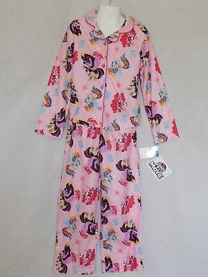 NEW My Little Pony Movie 2pcs Rainbow Dash Pajamas Sleep Outfit Girls 6/6X 7/8 (My Little Pony Pjs)