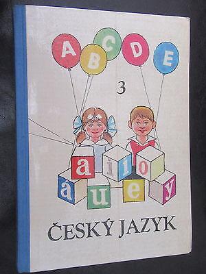 Tschechisches Schulbuch-Cesky Jazyk-Klasse 3-Josef Novak 1962