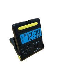 Marathon Basics CL030010Bk Simple Travel Alarm Clock. Easy to Use. Easy to Set.