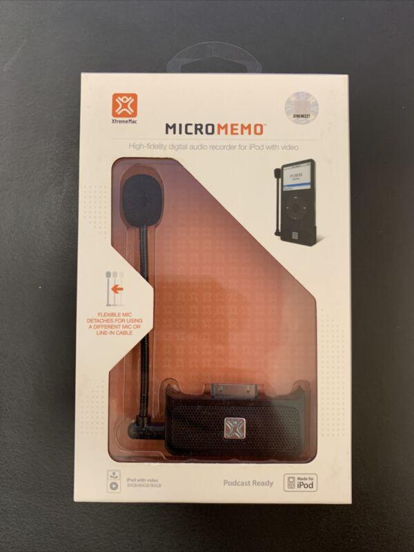 XtremeMac IPV-MIC-00 MicroMemo Digital Voice Recorder for iPod Video 30/60/80GB