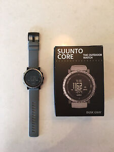 Suunto Core watch - Dusk Grey